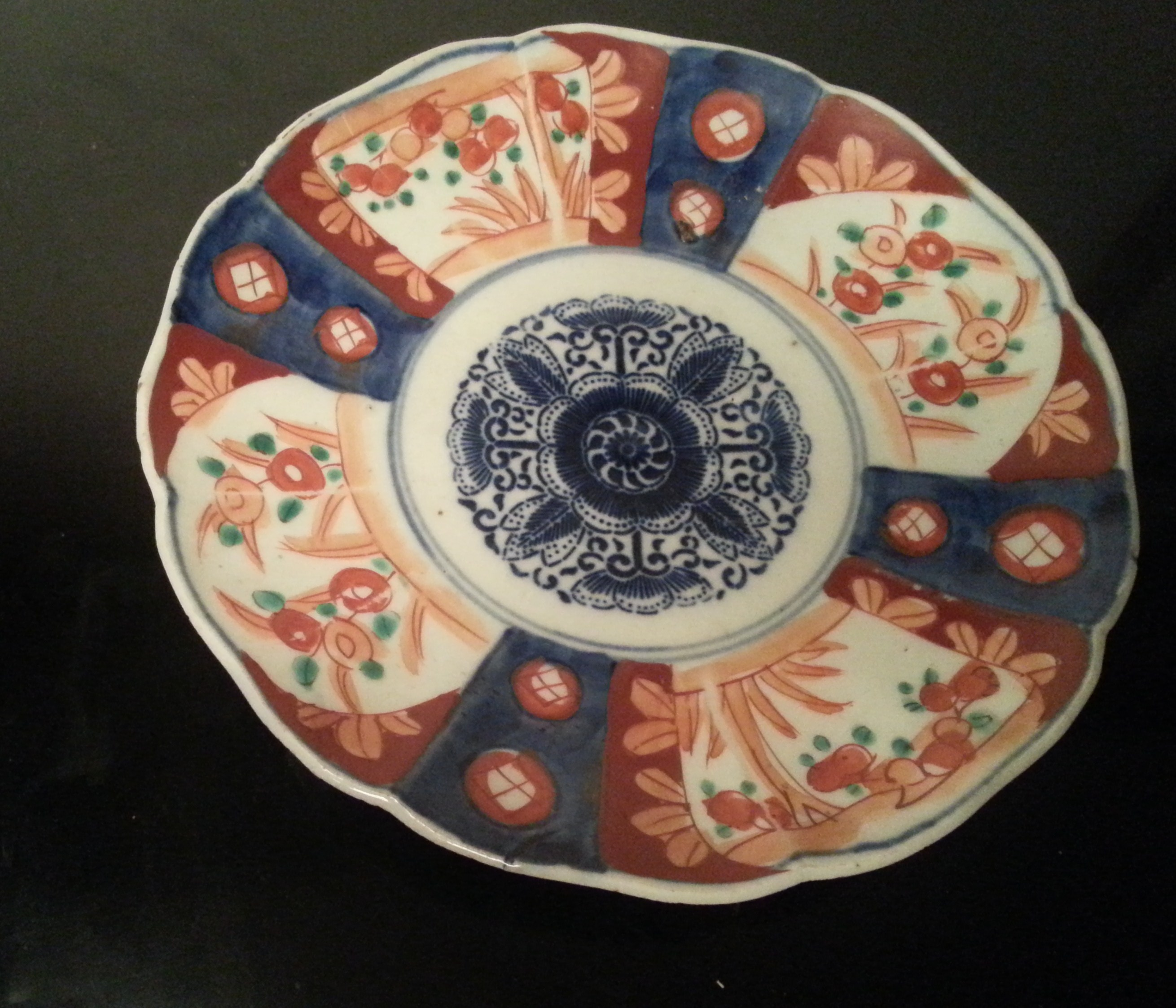 Petite assiette en porcelaine du japon xix me si cle for Decoration 19eme siecle