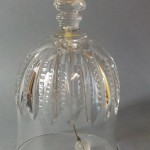 petite cloche de table clochette en cristal taillé baccarat Saint Louis 1 - Copie