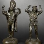 bronze barye fou