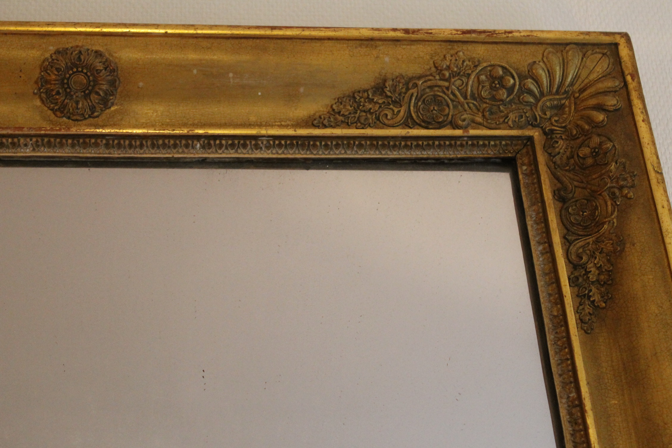 Grand miroir d poque restauration 140 cm x 86 cm for Restauration miroir
