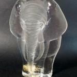presse papier cristal éléphant, hauteur de 15 cm (4)