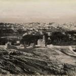 photo marseilles tirage original albuminé notre dame de la garde XIX ème siècle 1890 le Port de Marseille et le Fort Saint Jean le chateau d'if et les iles