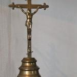 crucifix laiton XVIII siècle monastere couvent jesus christ croix cadeau bapteme communion  (2) (FILEminimizer)