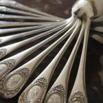 Cuillères à soupe cuiller en argent massif  poincon minerve modele baguette uniplat cartouche médaillon style Louis XVI (2) (FILEminimizer)