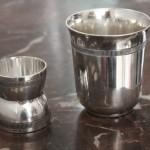 coquetier diabolo timbale gallia christofle metal argenté art déco  (1)