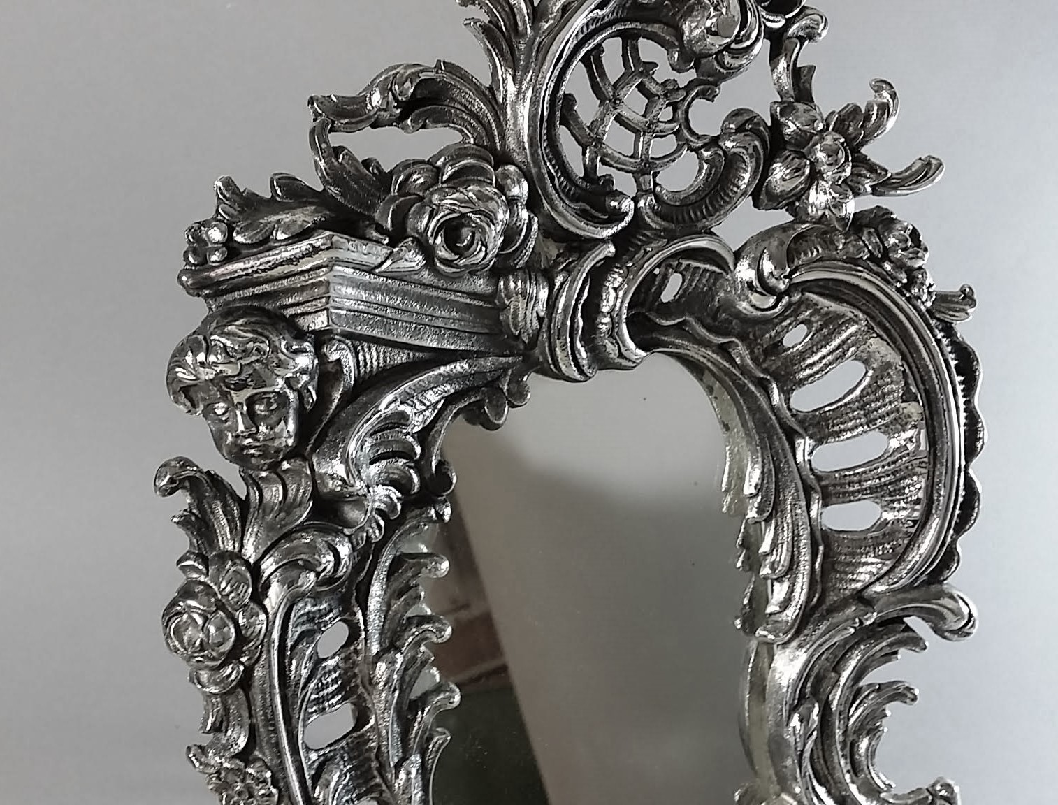 miroir de table style louis xv magasin pierre brost. Black Bedroom Furniture Sets. Home Design Ideas