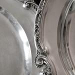 paire plats en argent massif style Louis XV rocaille napoleon III XIXe siècle minerve poincon orfevre g b  (6) (FILEminimizer)