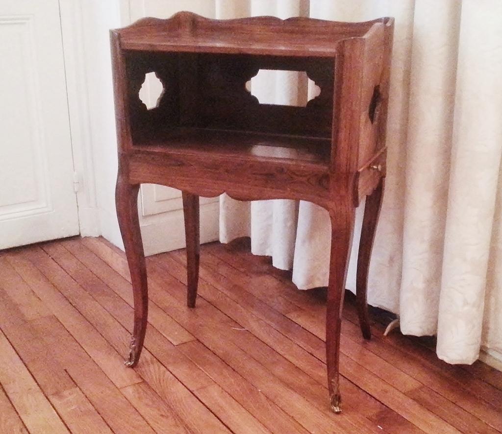 el gante petite table en cas en palissandre d poque louis xv magasin pierre brost. Black Bedroom Furniture Sets. Home Design Ideas