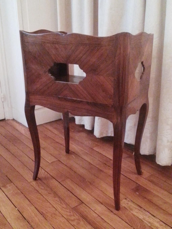 El Gante Petite Table En Cas En Palissandre D Poque Louis Xv  # Meuble Palissandre