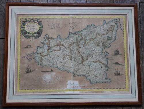 carte-xviii-gravure-aquarelle-sicile-1