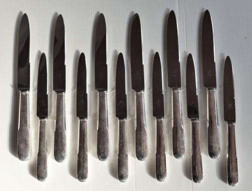 12 couteaux uniplat argent massif vieux paris cluny tetard (1)