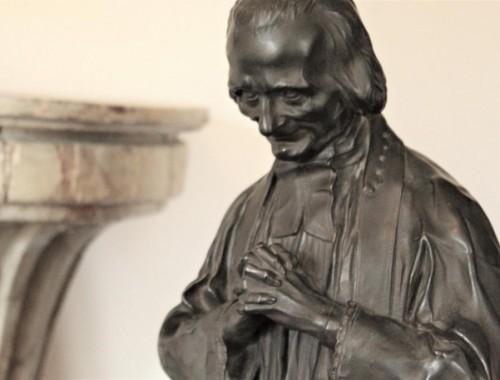 saint jean marie vianney curé d'ars sculpture statue bronze andré cesar vermare (5)