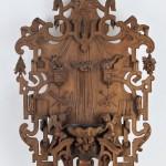 benitier bois sculpté renaissance XIXe siècle pipiquenaut feciit chapelle alcove (7)