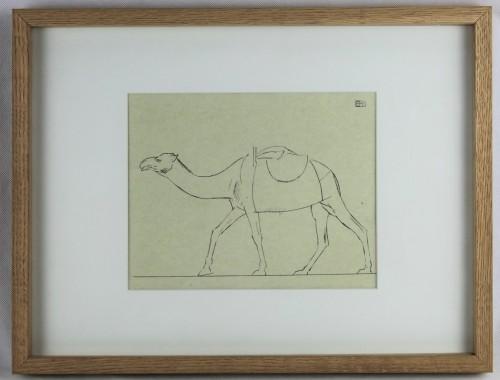 boutet de monvel bernard bbm dessin oriental marocaine dromadaire djellaba chameau orientalisme (5)