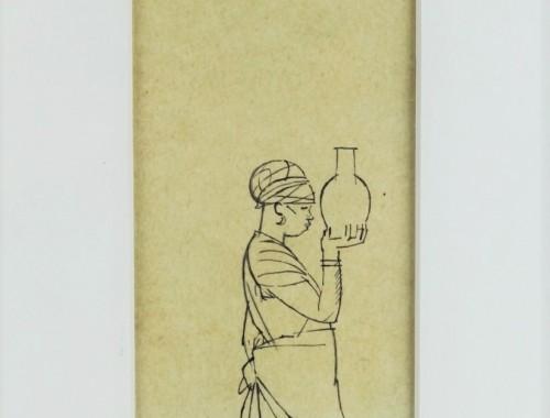 boutet de monvel bernard bbm dessin oriental marocaine dromadaire djellaba chameau orientalisme (7)