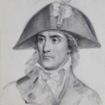 Portrait de Jean Nicolas Stofflet dessin pierre noire Robert lefevre XIXe siècle chef vendéen chouan guerre de vendée (2)