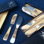 6 tartineurs ou petits couteaux à beurre ercuis(1)