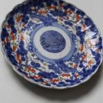 assiette japon peint imari art d'asie XIXème siècle porcelaine