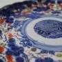 assiette japon peint imari art d'asie XIXème siècle porcelaine (2)