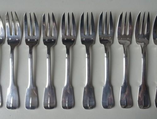 fourchettes gateau dessert uniplat cluny