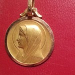 medaille bapteme or vierge (2)