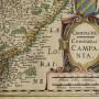 carte de la champagne ardennes aube marne troyes reims ancienne gravure eau forte estampe aquarelle XVIIème siècle XVIII (3)