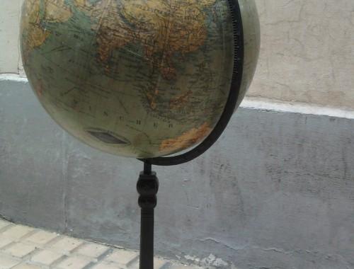 mappemonde globe terrestre bis fin XIX eme siecle allemand colombus erdglobus berlin kartograph art nouveau art antiquites objet de curiosite marine cadeau de mariage (8)