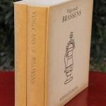 disques vinyles 33 tours et livre georges brassens 20 vingt ans de brassens poemes et chansons collector (3)