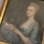 pastel portait femme XVIII eme siècle elegante lecture livre epoque Louis XVI    (3)