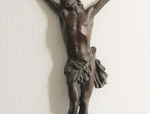 christ en bronze crucifix XVIII jesus (1) (FILEminimizer)
