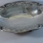 coupe corbeille à pain ou à fruits . largeur 40 cm. vers 1900. 55€ (2)