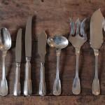 menagere au filet 12 personnes couverts fourchette modele chinon poisson couteaux salade service ragout cuilleres entremet(6)