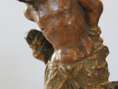 sculpture-terre-cuite-statue-religieuse-saint-sebastien-xviie-siecle-2