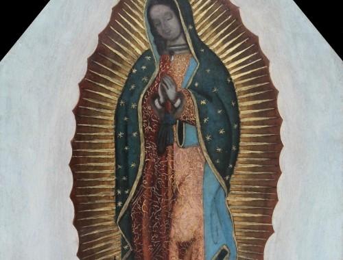 notre dame de guadalapu virgen guadalupana kuzco ecole mexique mexicaine XVIIIe siècle huile cuivre tableau vierge (2)