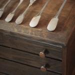 menagere uniplat christofle cluny metal argent fourchettes cuilleres louche pelle a tarte couteaux (6)
