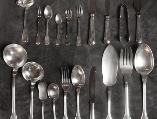 menagere filet chinon contours couverts metal argenté (5)