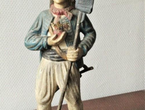 chouan vendéen guerre de vendée scukpture statue bois (1)