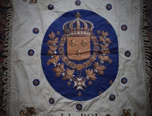 drapeau etendar banniere royaliste restauration XIXe siècle insurrection monarchie (1)