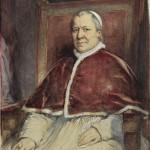 portrait Pape Pie IX Louis Gallait