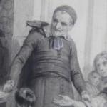 Karl Girardet Hipollyte Pauquet dessins pierre noire Saint Vincent de Paul etude preparatoire Orsini (10)