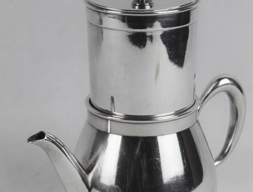 cafetiere de voyage filtre couvercle christofle métal argenté (2)