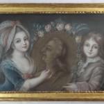 portrait famille royale Louis XVII Madame Marie thérèse Louis XVI pastel XVIIIe siècle (2)